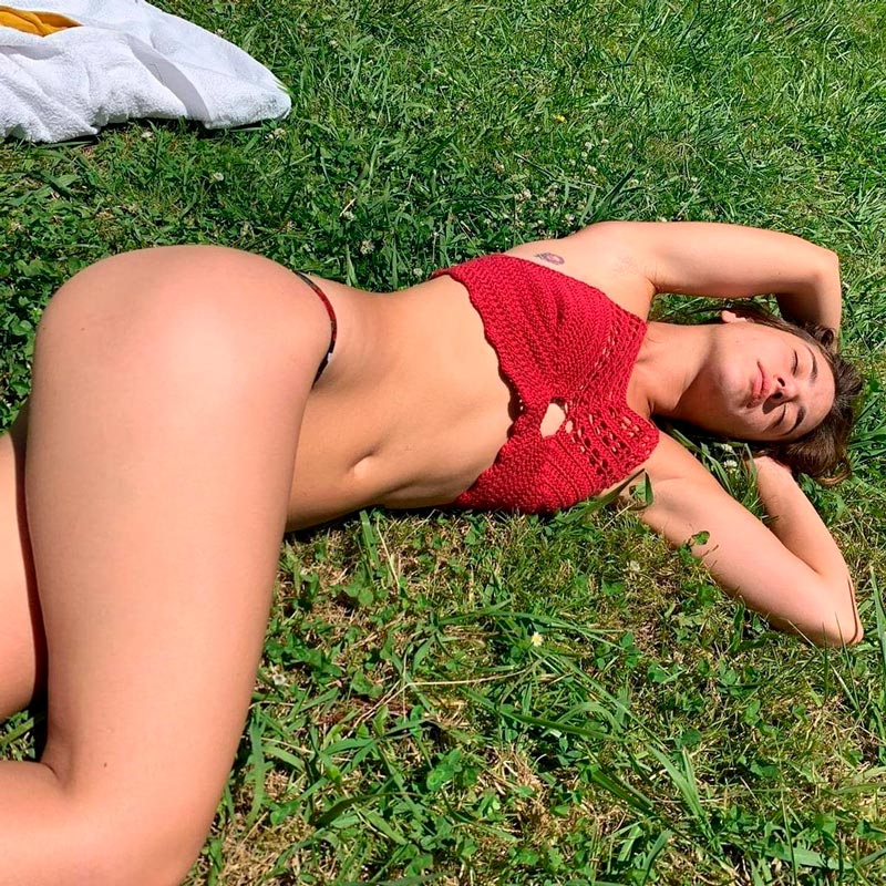 Asia Ortega Fotos Bikini Instagram