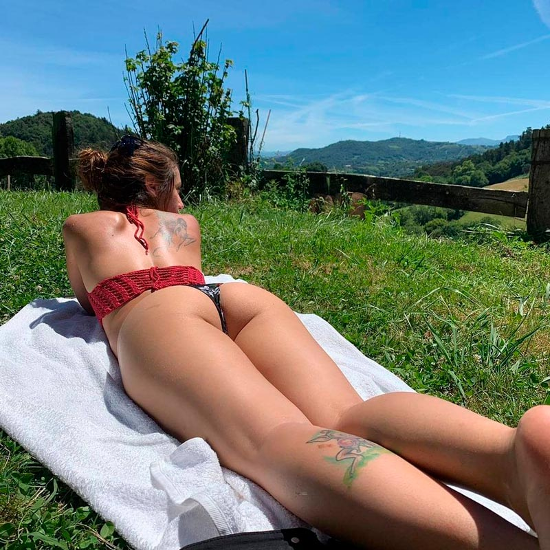 Asia Ortega Fotos Bikini Culo Tanga