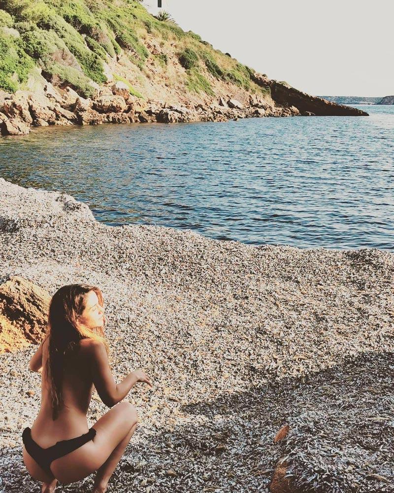 Asia Ortega Fotos Topless Instagram
