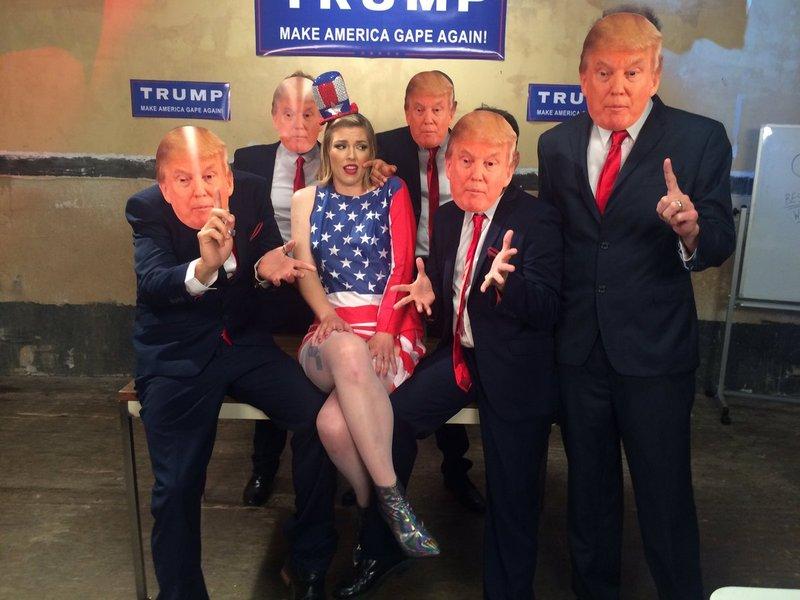 Ella Nova Kink Make America Gape Again 12