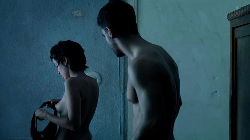 María De Nati Topless Víctima Número Netflix