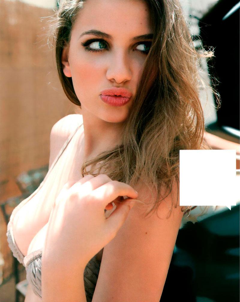 Miriam Giovanelli Posado Erótico Lencería 10