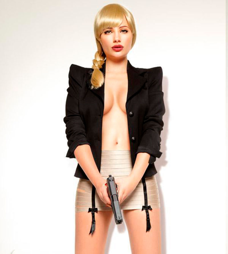 Miriam Giovanelli Topless Fotos Revista Moda