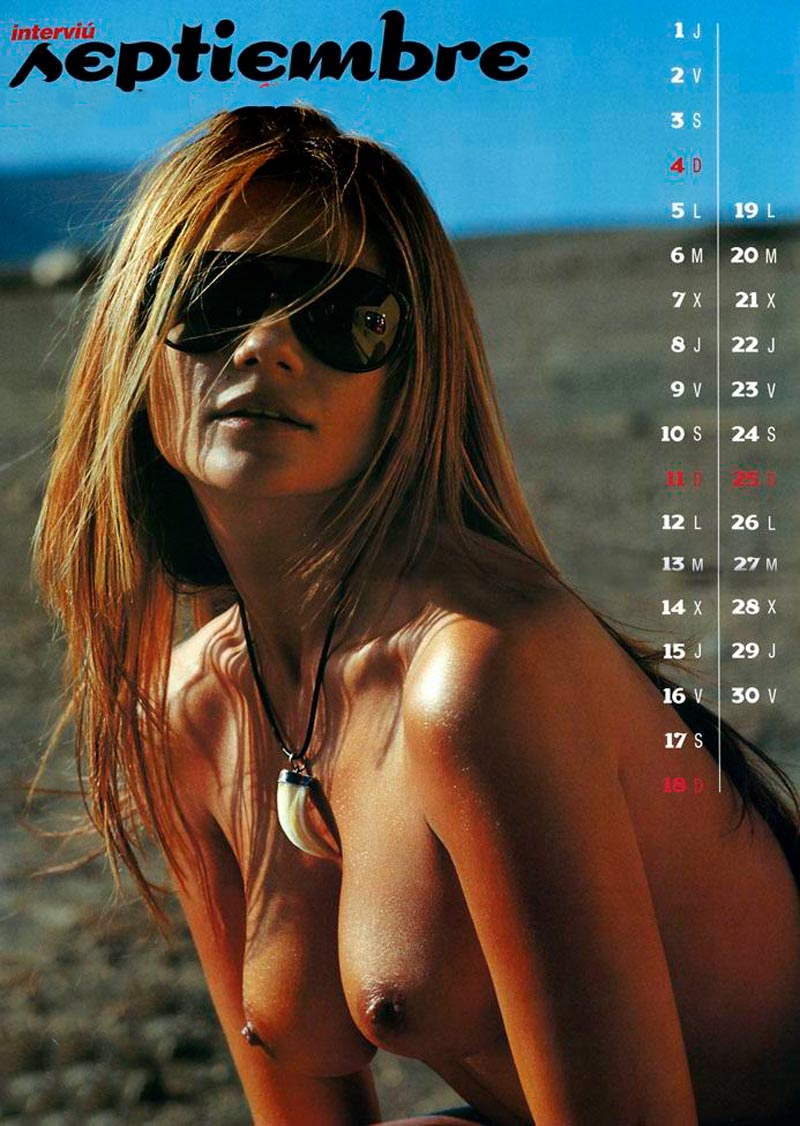 Sylvia Pantoja Desnuda Calendario Erótico Interviu 10