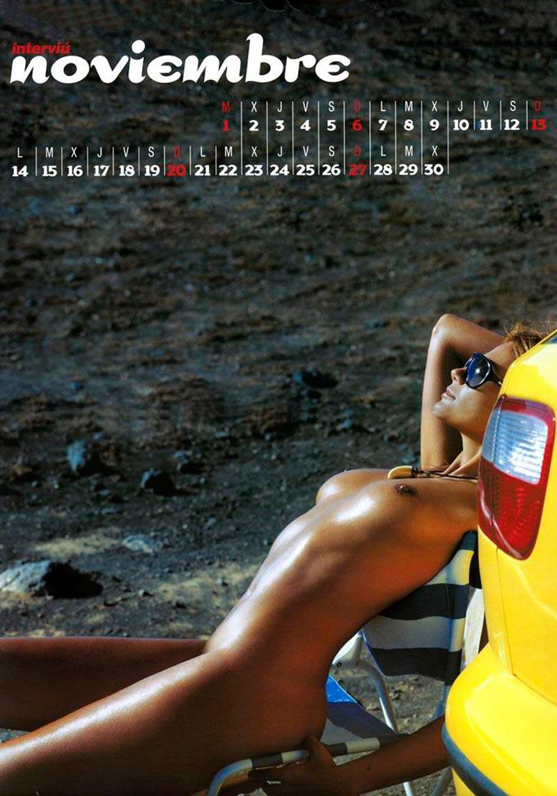Sylvia Pantoja Desnuda Calendario Erótico Interviu 12