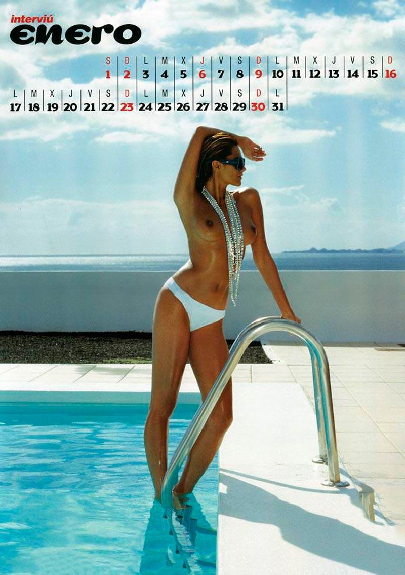 Sylvia Pantoja Desnuda Calendario Erótico Interviu 2