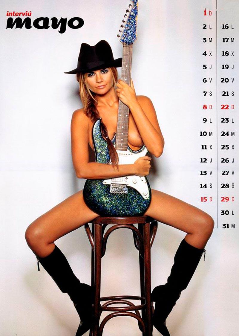 Sylvia Pantoja Desnuda Calendario Erótico Interviu 6