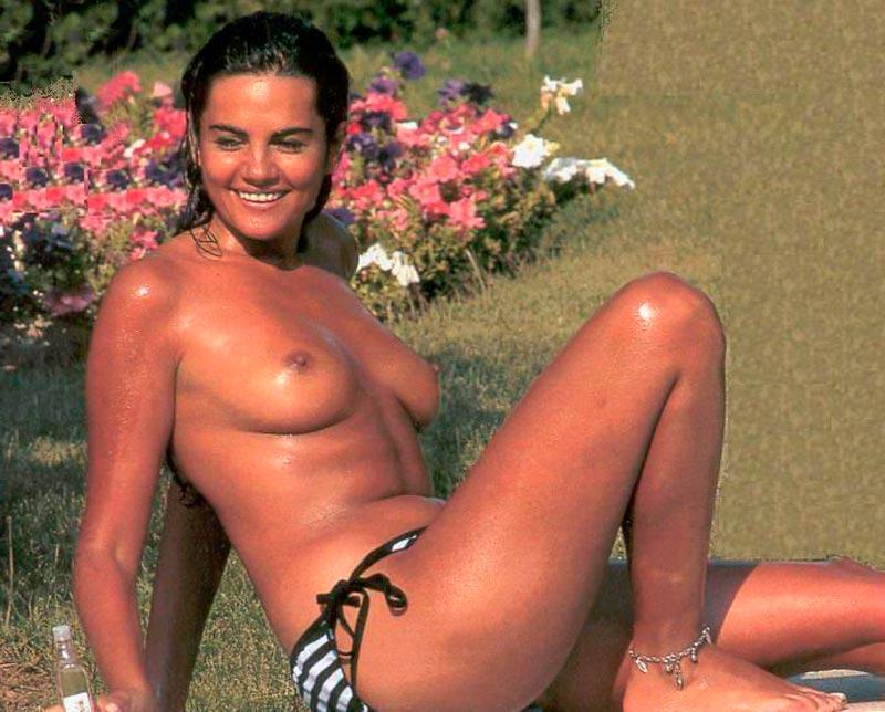 Sylvia Pantoja Pillada Topless Robado Paparazzi 3