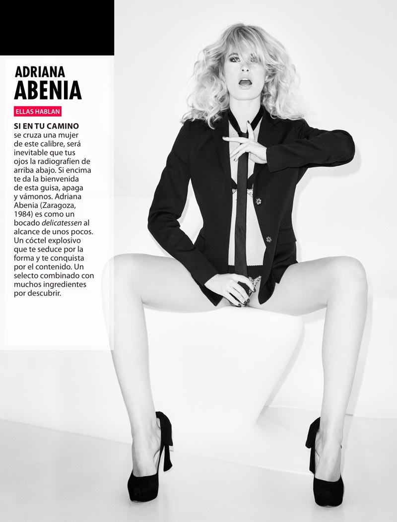 Adriana Abenia Abierta Piernas