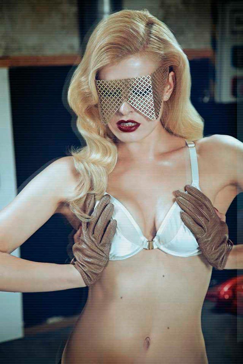 Adriana Abenia Exhibida Lencería Erótica 3