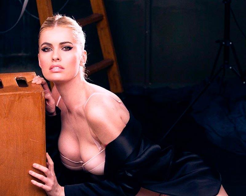 Adriana Abenia Exhibida Lencería Erótica 8