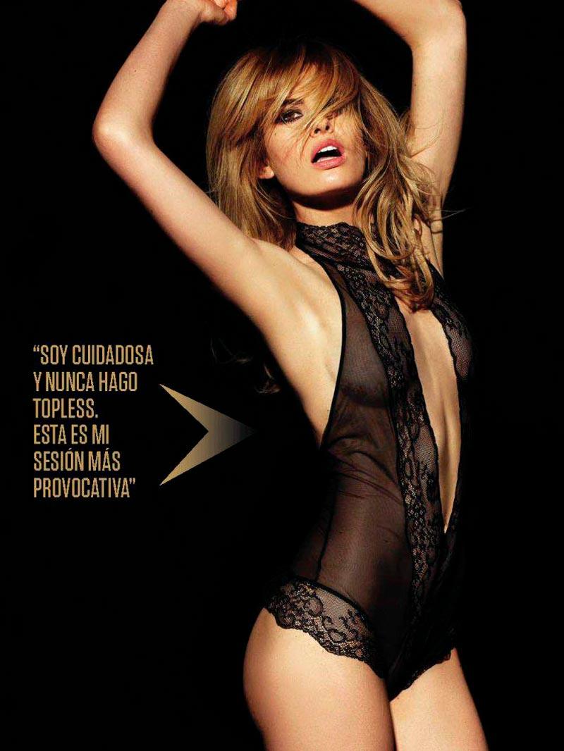 Adriana Abenia Fotos Eróticas Revista Fhm 5