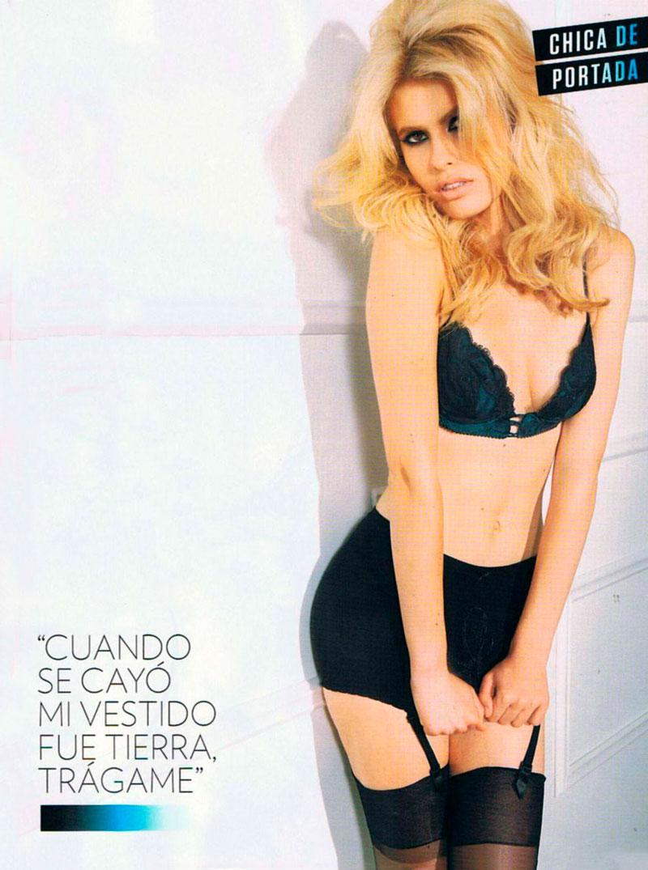 Adriana Abenia Fotos Semidesnuda Revista Gq