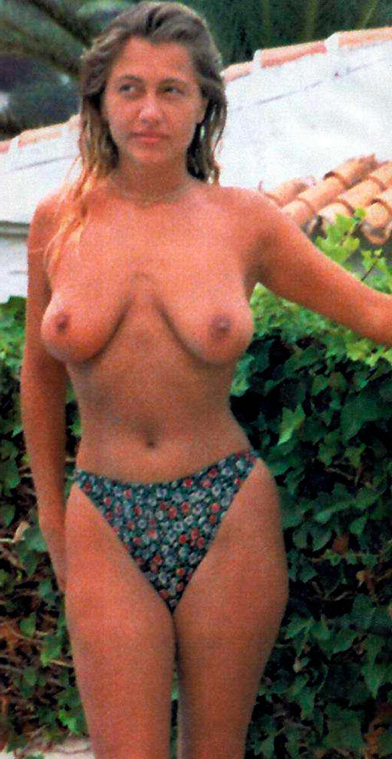 Cristina Tárrega Joven Tetas Grandes Topless