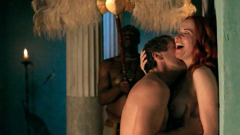 Lucy Lawless Escenas Calientes Serie Spartacus