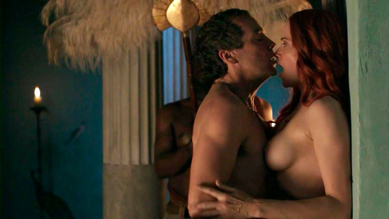 Lucy Lawless Sexo Serie Spartacus
