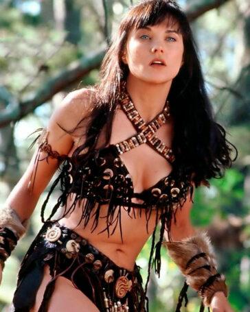 Lucy Lawless Sexy Xena Princesa Guerrera