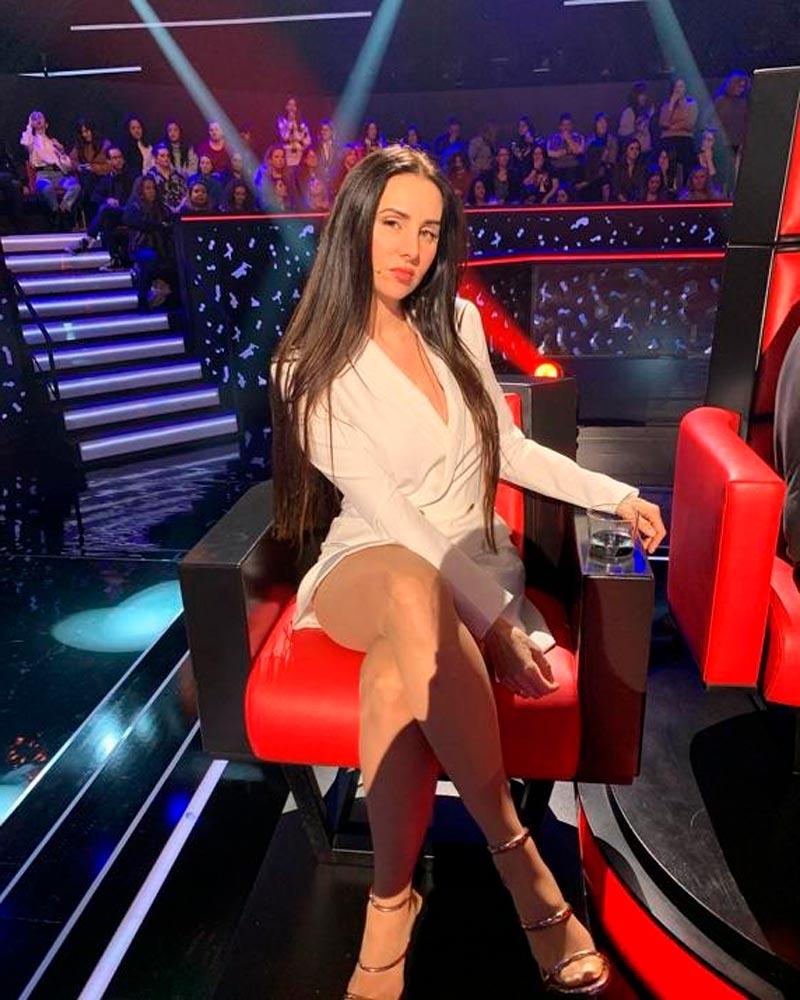 Mala Rodríguez Sexy Presentadora La Voz Antena 3