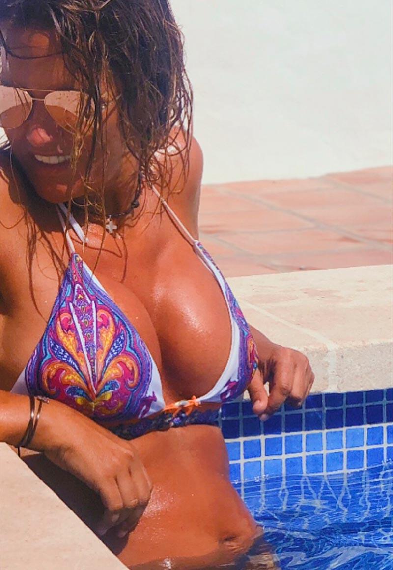 Marta López Grandes Tetas Bikini