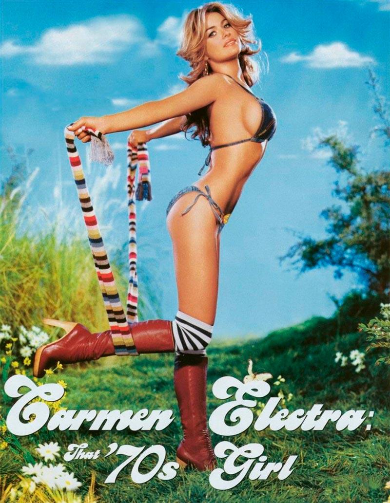 Carmen Electra Colección Bikinis Pornográficos 6
