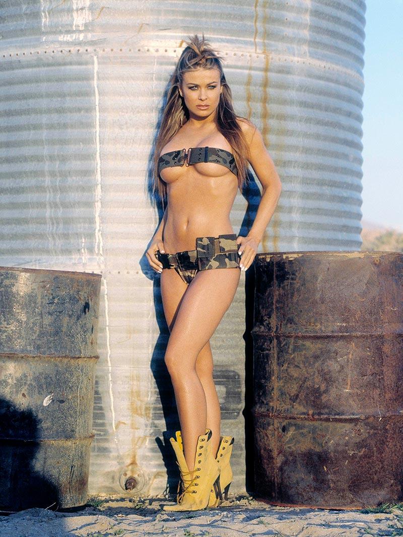 Carmen Electra Posado Erótico Revista 4