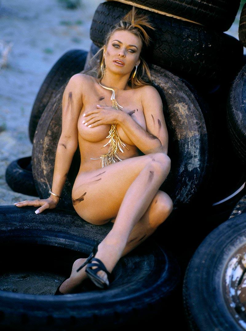 Carmen Electra Posado Erótico Revista 5