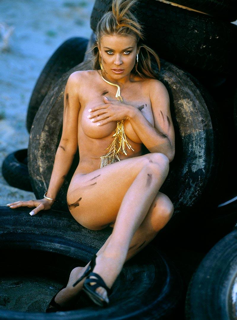 Carmen Electra Posado Erótico Revista 6