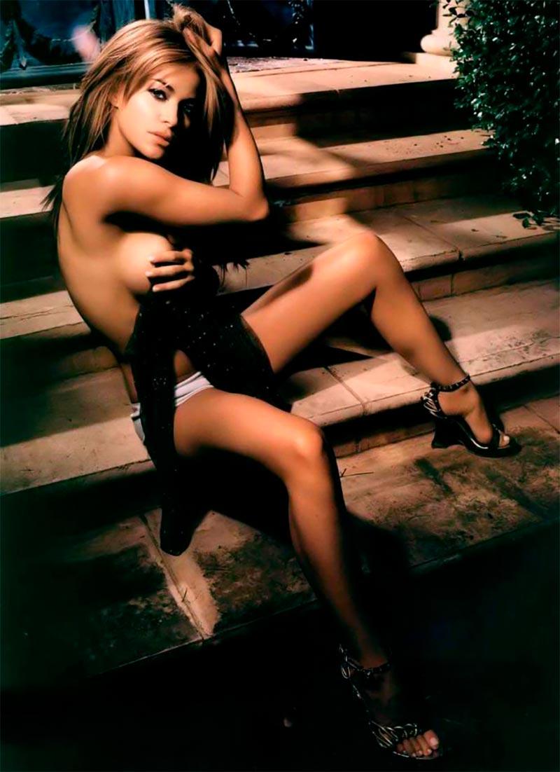 Carmen Electra Posado Pechos Tetas 4