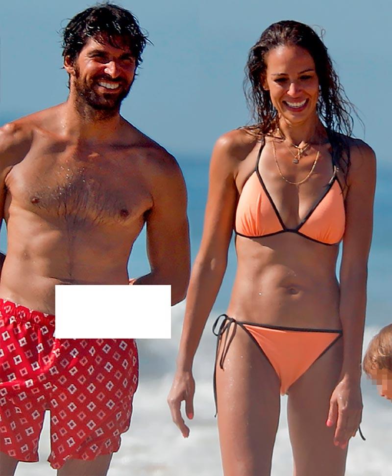 Eva González Cayetano Rivera Vacaciones Playa