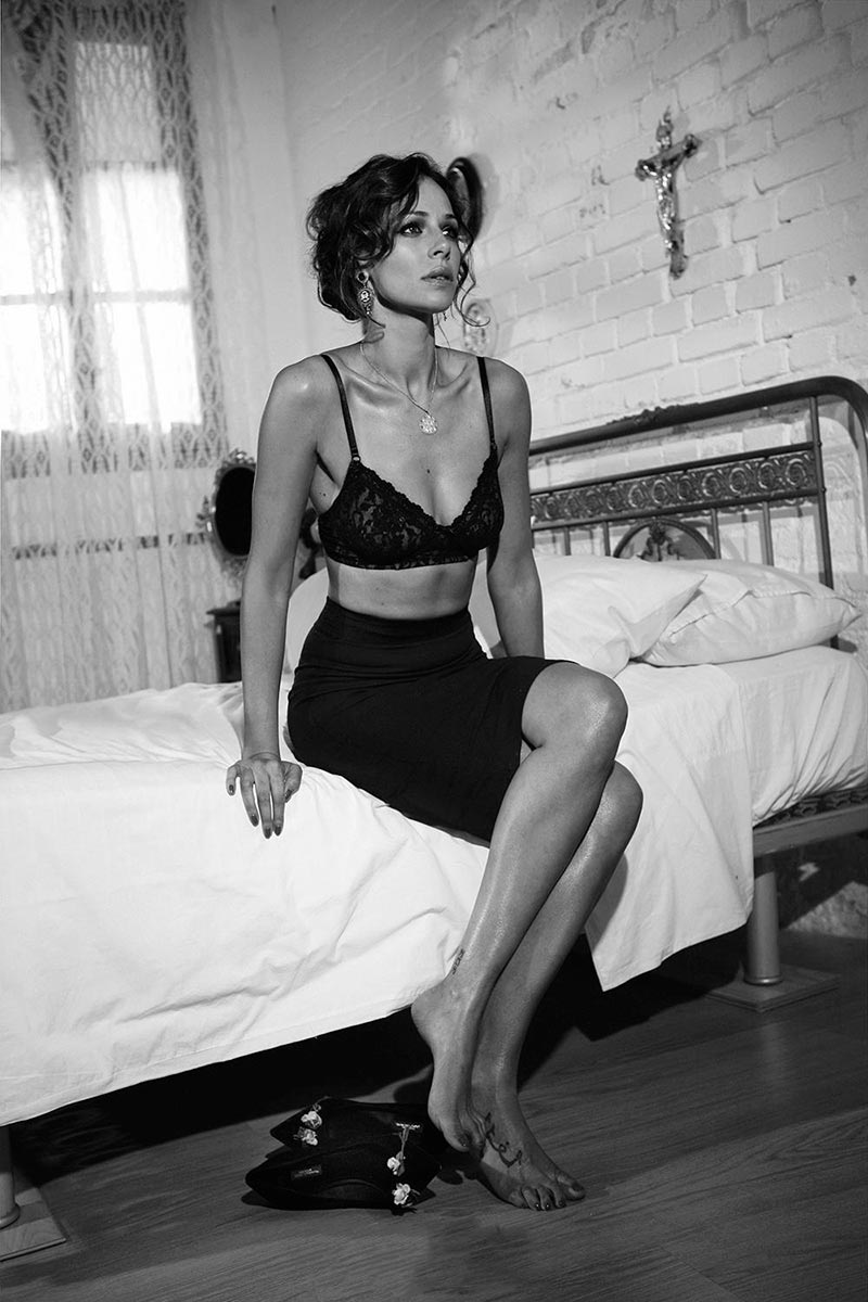 Eva González Fotos Moda Revista Elle