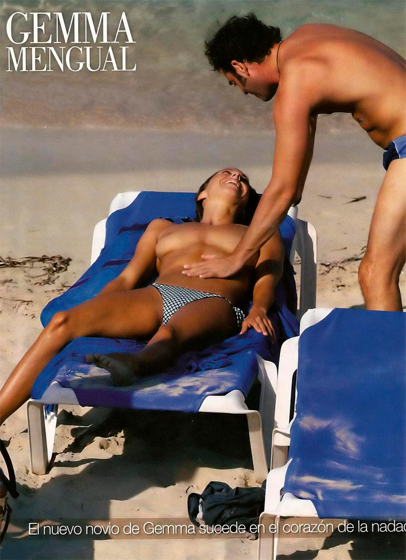 Gemma Mengual Desnuda Fotos Interviu 2