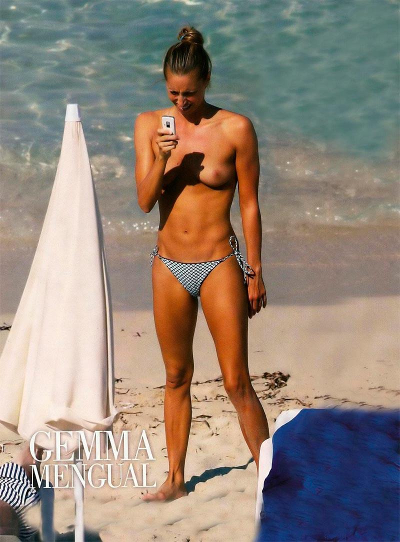 Gemma Mengual Desnuda Fotos Interviu