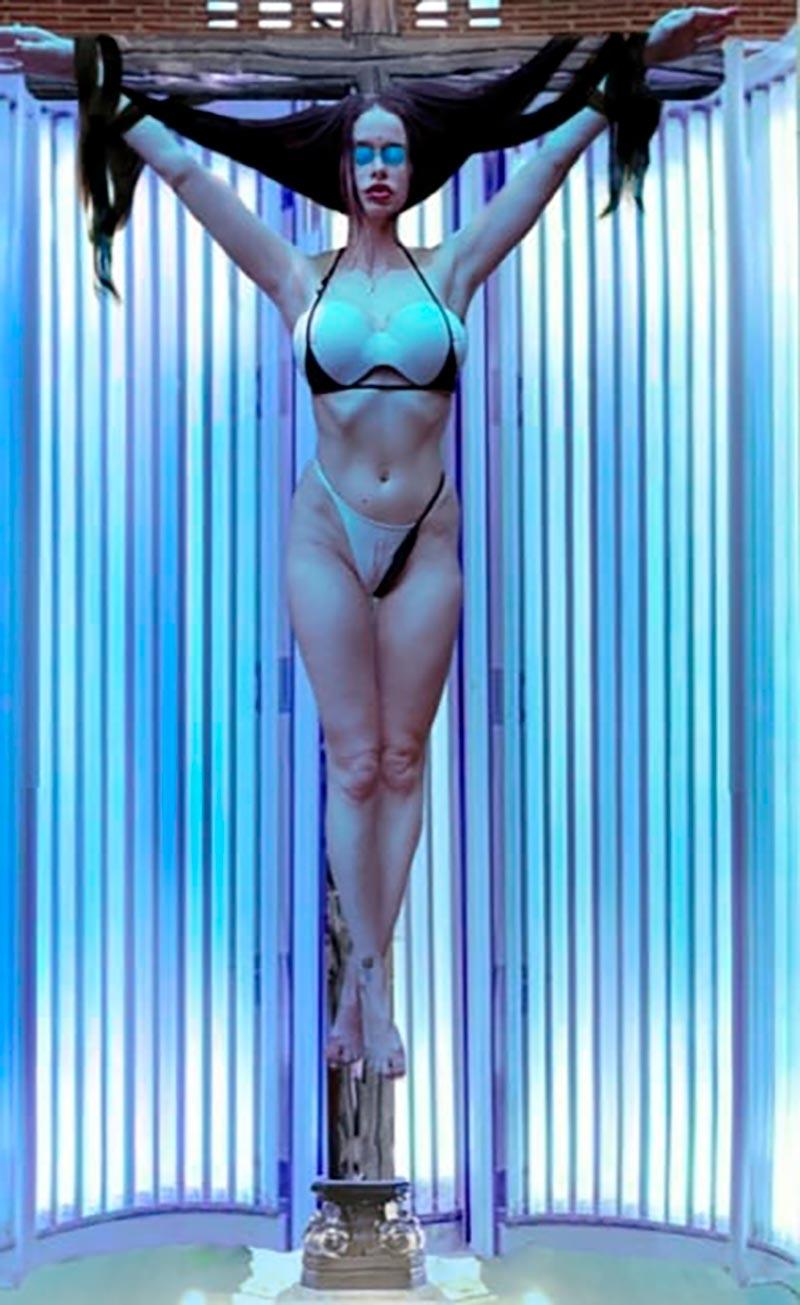 María Forqué Desnuda Artista Transgresora Performance 5