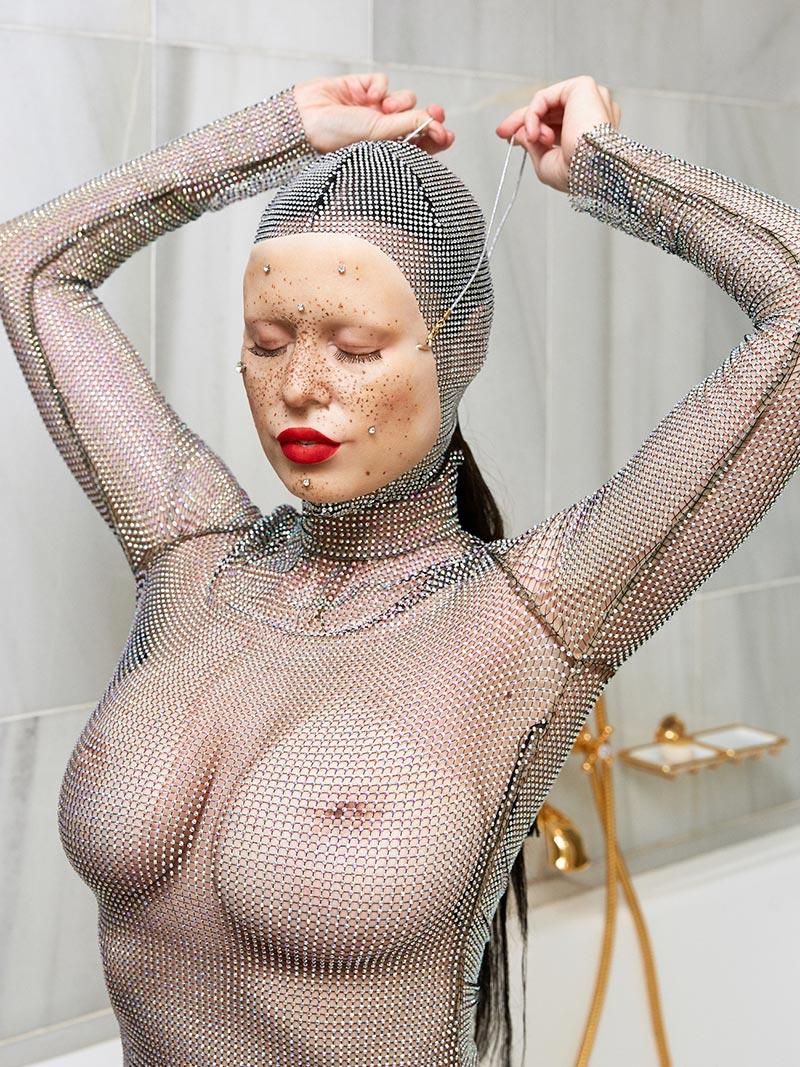 María Forqué Desnuda Artista Transgresora Performance 8