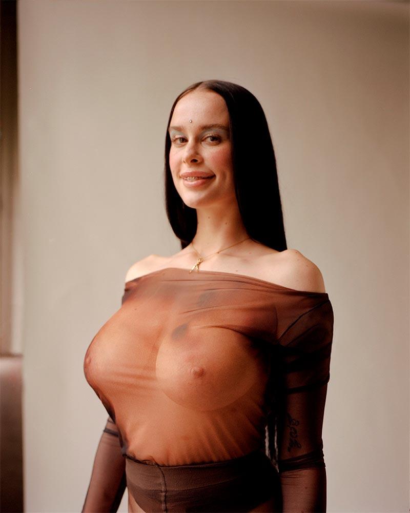María Forqué Desnuda Artista Transgresora Performance 9