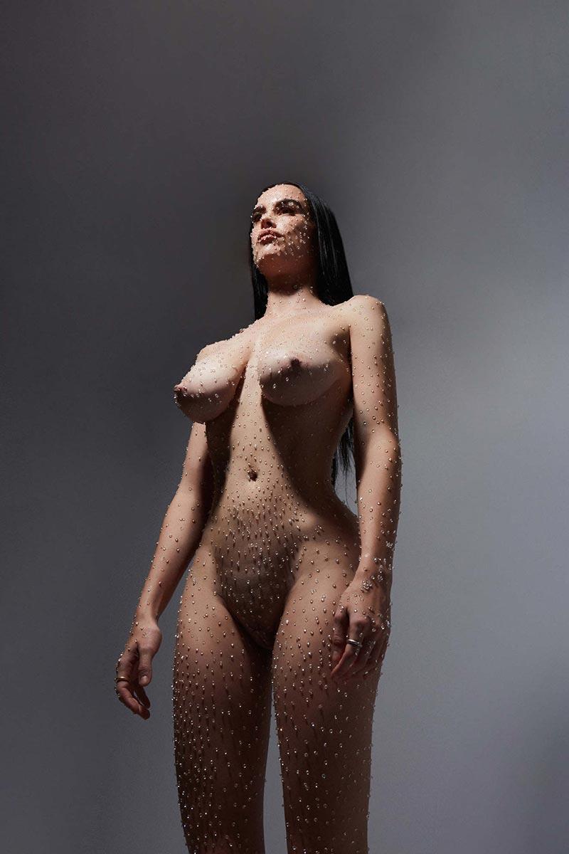 María Forqué Desnuda Artista Transgresora Performance