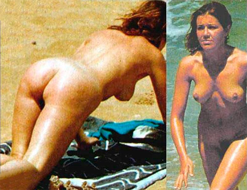 María Pujalte Desnuda Nudismo Pillada Playa 2