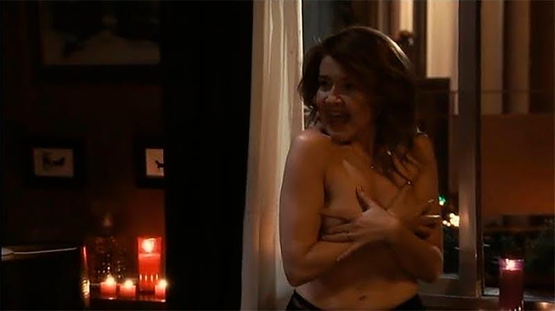 María Pujalte Topless Serie Los Quien