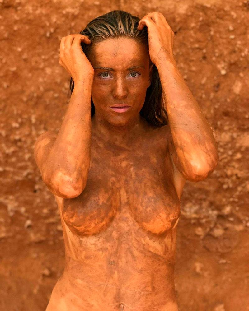 Claudia Molina Topless Fotos Instagram