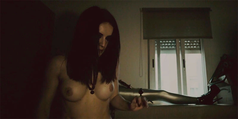 Claudia Molina Topless Película Lucero
