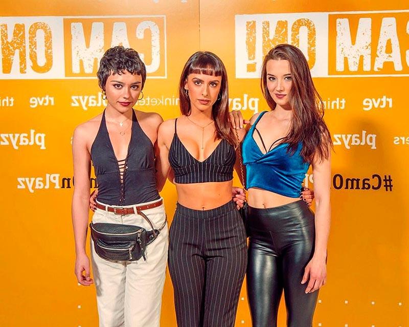 Laura Moray Ester Expósito Foto Amigas Sexys