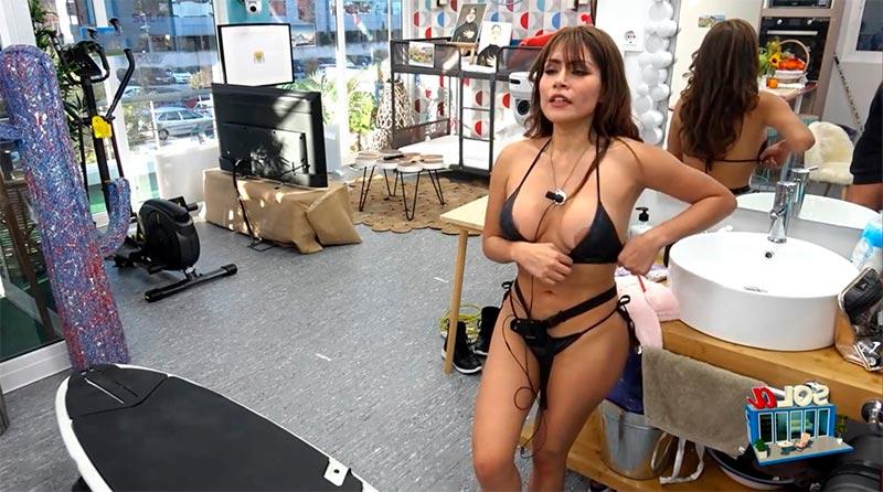 Miriam Saavedra Descuido Pezón Bikini Telecinco