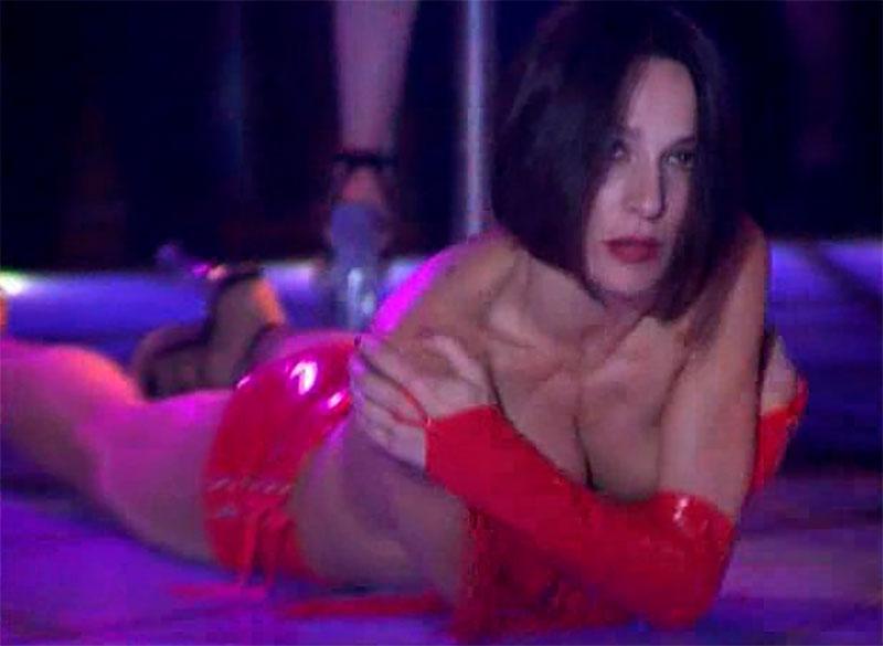 Natalia Millán Topless Bailarina Erótica Estríper