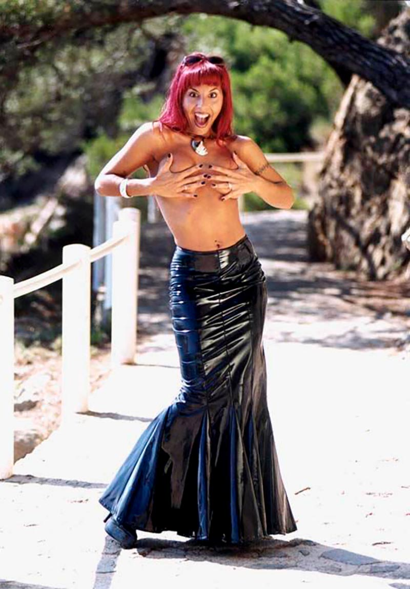 Chiqui Martí Sensual Bailarina Erótica Programas Tv 4