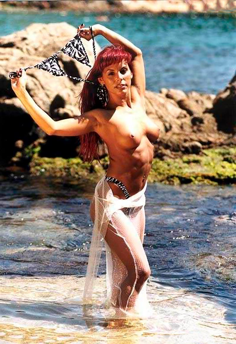 Chiqui Martí Topless Famosa Estríper Televisión 4