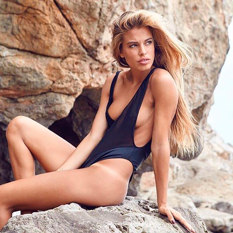 Jessica Goicoechea Bañador Sexy Provocativo