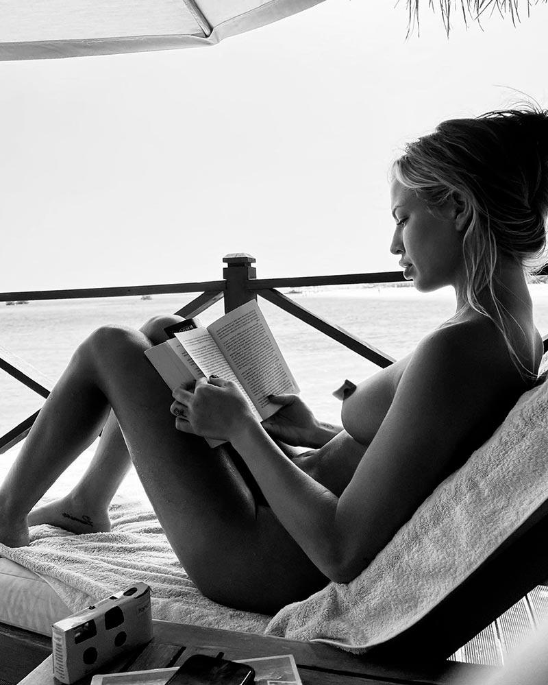 Jessica Goicoechea Belleza Natural Desnudo Integral 9
