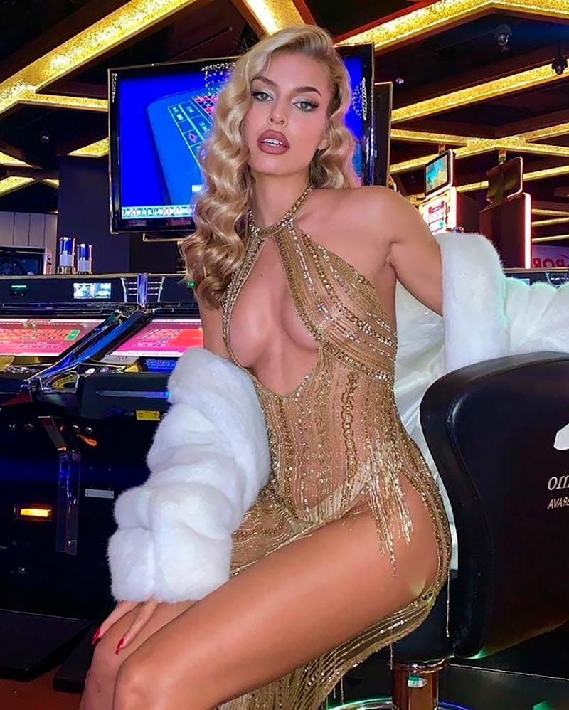 Jessica Goicoechea Modelito Erótico Semidesnuda 2