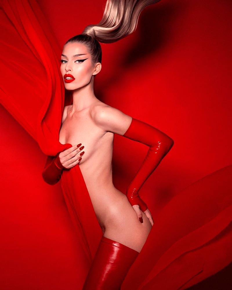 Jessica Goicoechea Modelito Erótico Semidesnuda 4