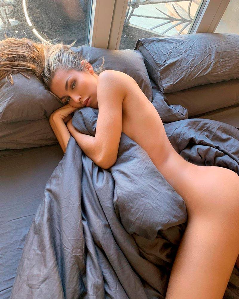 Jessica Goicoechea Semidesnuda Curvas Cuerpo 2